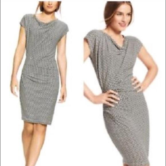 CAbi Dresses & Skirts - CAbi 614 Monroe ruched drape Dress